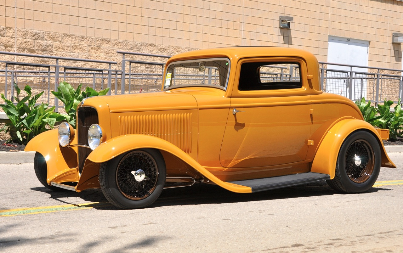 32 ford coupe steel bodied stunning
