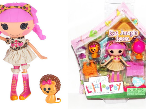 New Mini and Large Lalaloopsy Dolls