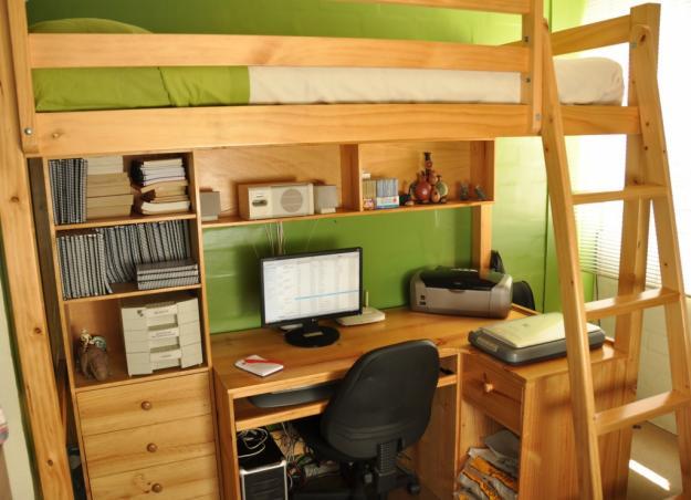 Cama escritorio blog de smart - Camas con escritorio debajo ...