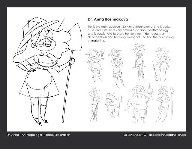 Derek Paper Pencil: Nate Wragg's Character Design for