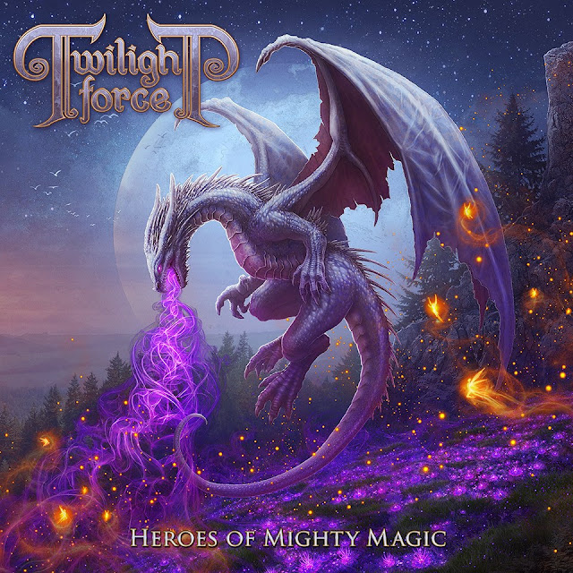 Detail from Twilight Force New Album, Heroes of Mighty Magic, Detail from Twilight Force New Album Heroes of Mighty Magic
