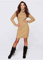 Rochie tricotată Premium bonprix (bonprix)