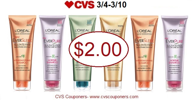 http://www.cvscouponers.com/2018/03/hot-pay-200-for-loreal-ever-hair-care.html