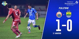 Persija Jakarta vs Persib Bandung 1-0 - Liga 1 Sabtu 30 Juni 2018