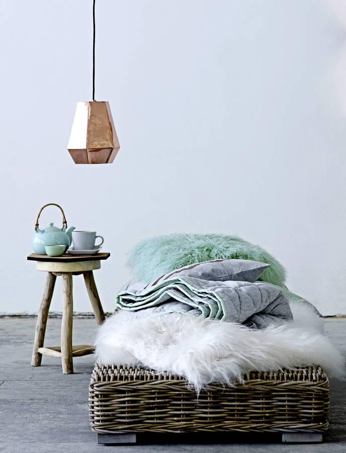 colgante de lámpara de cobre, copper