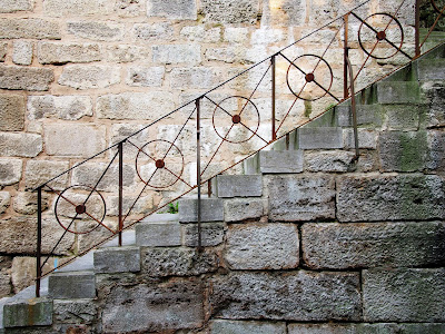 ローテンブルク 階段 デザイン