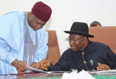 jonathan defends dasuki