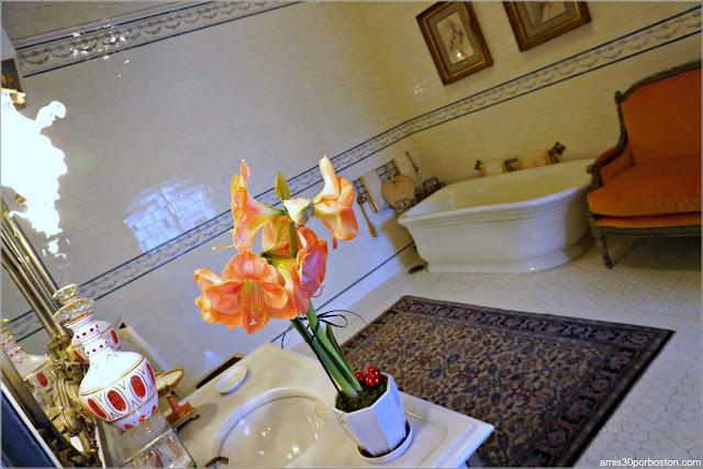 Baño en la Mansión The Elms en Newport