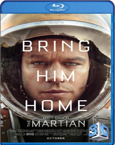 The Martian [BD50] [2015] [Latino] [3D]