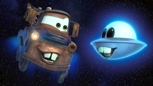 Unidentified Flying Mater Cars Toons