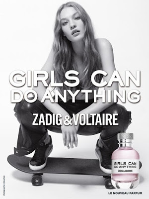 Reklama perfum Zadig&Voltaire Girls Can Do Anything