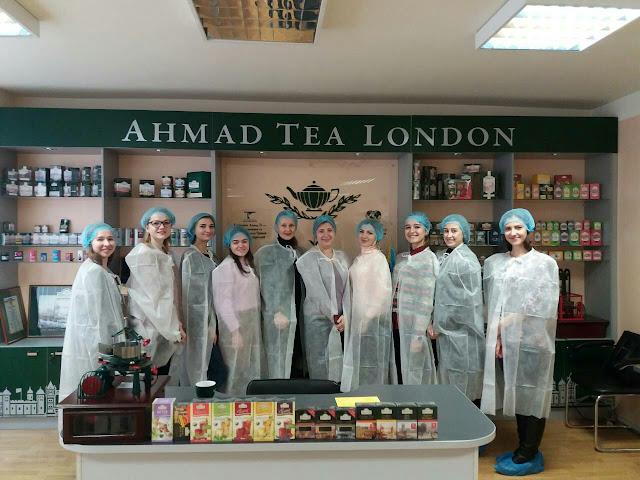 Студенти факультету економіки і права відвідали Чайну Фабрику Ахмад Ті