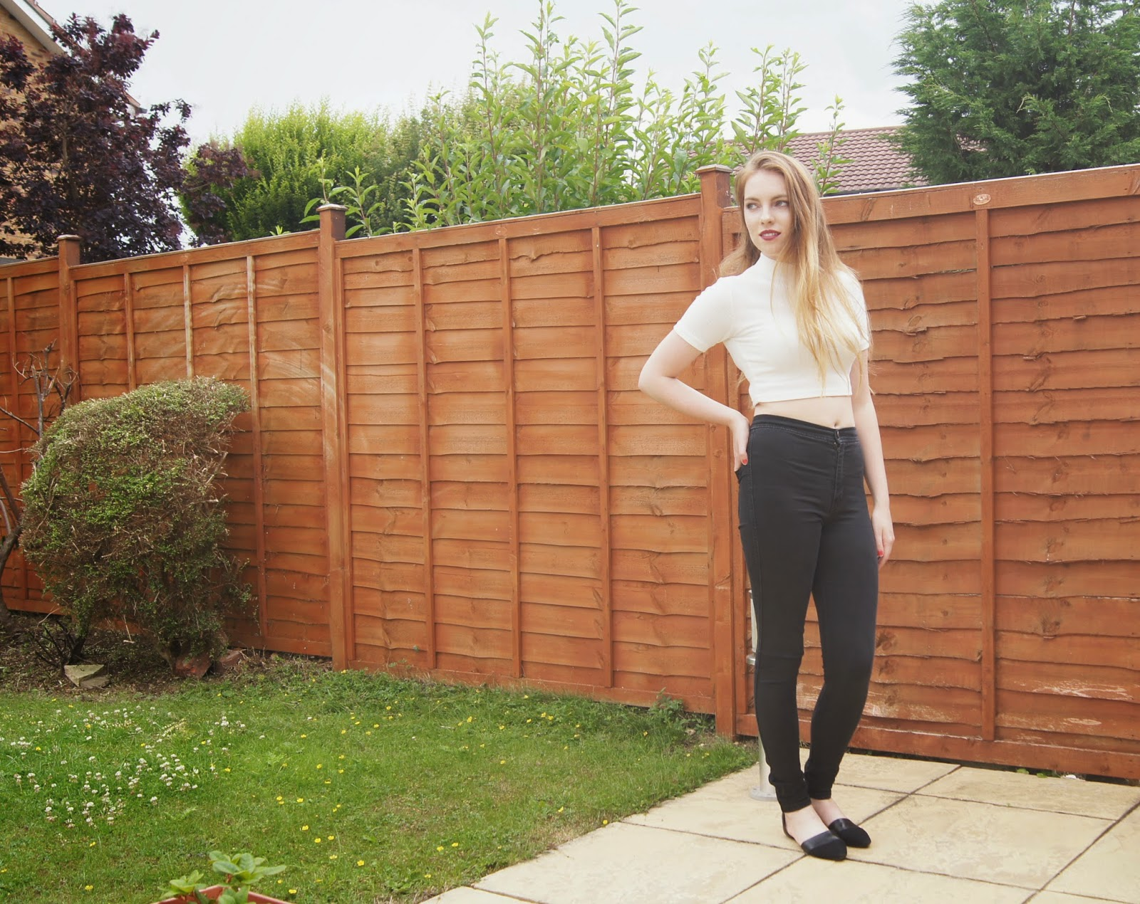 ASOS Uber High waisted jeans