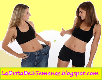 Dietas para bajar de peso rapidamente y sin rebote