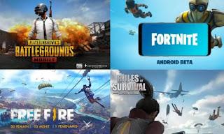 4 Games Battle Royale Terbaik di Android dan iOS