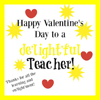 Delightful Teacher Valentine
