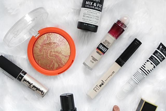 drugstore concealers, drugstore makeup