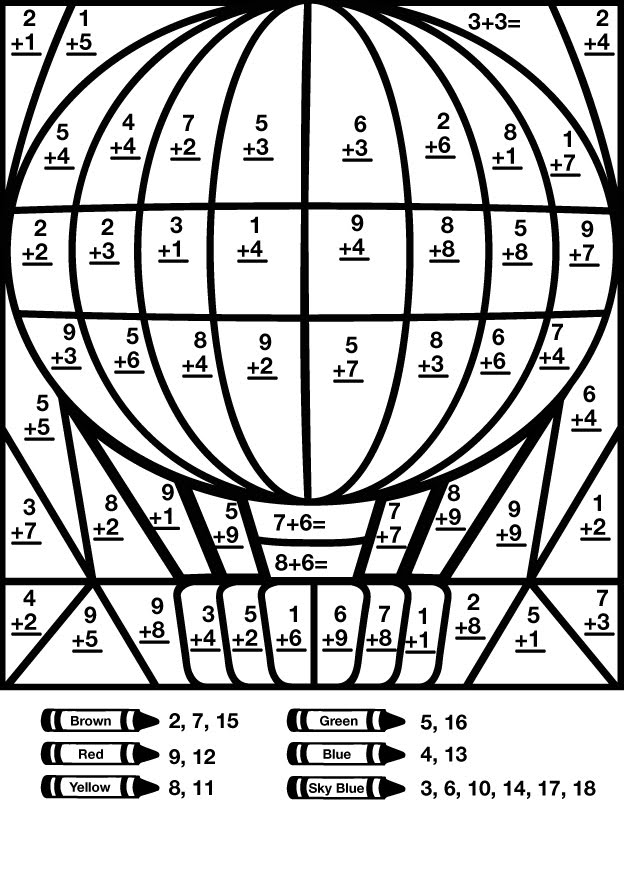 Mystery Grid Drawing Worksheets Sketch Coloring Page