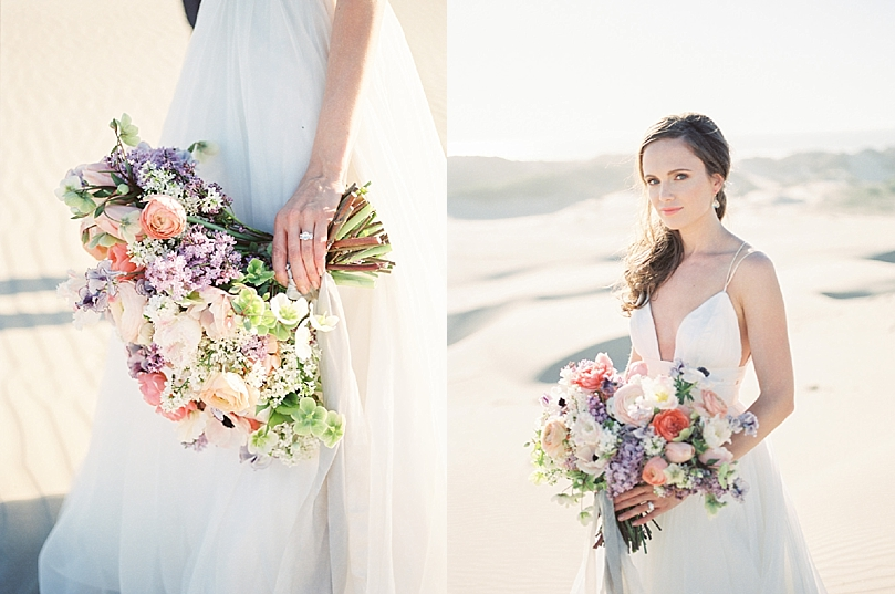 Romantic Sand Dunes Elopement Wedding Ideas | Tenth and Grace Photography