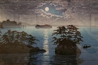 Futago Islands, Matsushima by Kawase Hasui, 1933