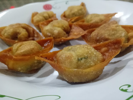 Chinese Deep Fried Wonton 炸云吞