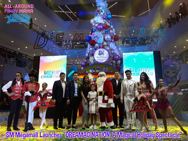 AAPM Events, Dreamagination: A Magical Holiday Spectacle, Events and Workshops, SM Megamall, SM Supermalls, #ChristmasSMoments, #MegaChristmas2018