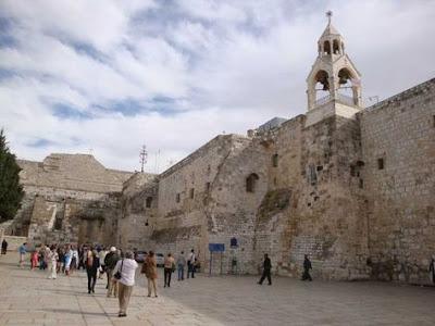 La Basílica de la Natividad en Belén.