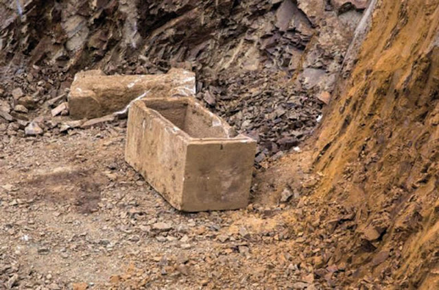 Roman-era sarcophagus found at Istanbul high school construction site