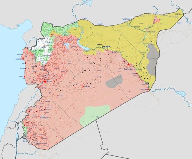 Mientras tanto, en Siria…