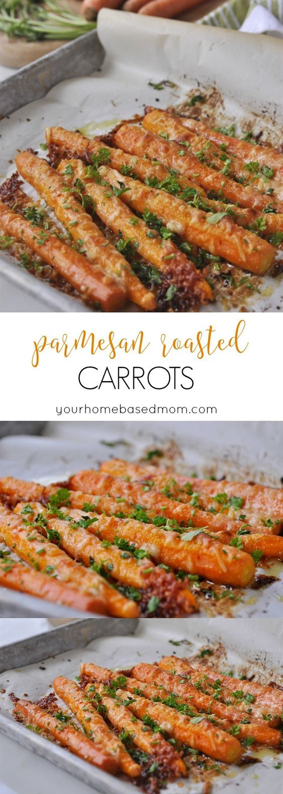 Parmesan Roasted Carrots #parmesan #roasted #carrots #veganrecipes #veggies #vegetarianrecipes #vegetablerecipes