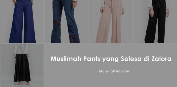 Muslimah Pants, zalora