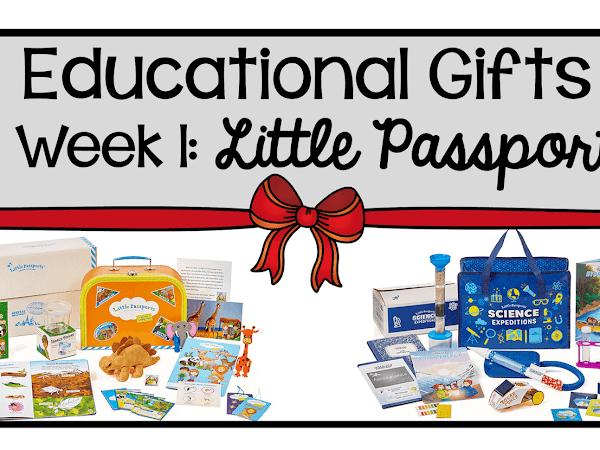9 Weeks of Educational Gifts: Week 1