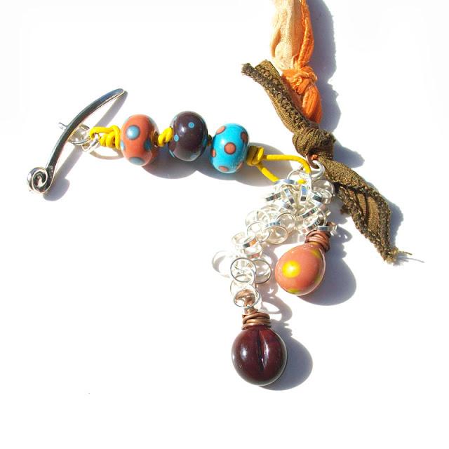 Coffee Lover's Cup Necklace – Genea Beads – Art Bead Scene Studio