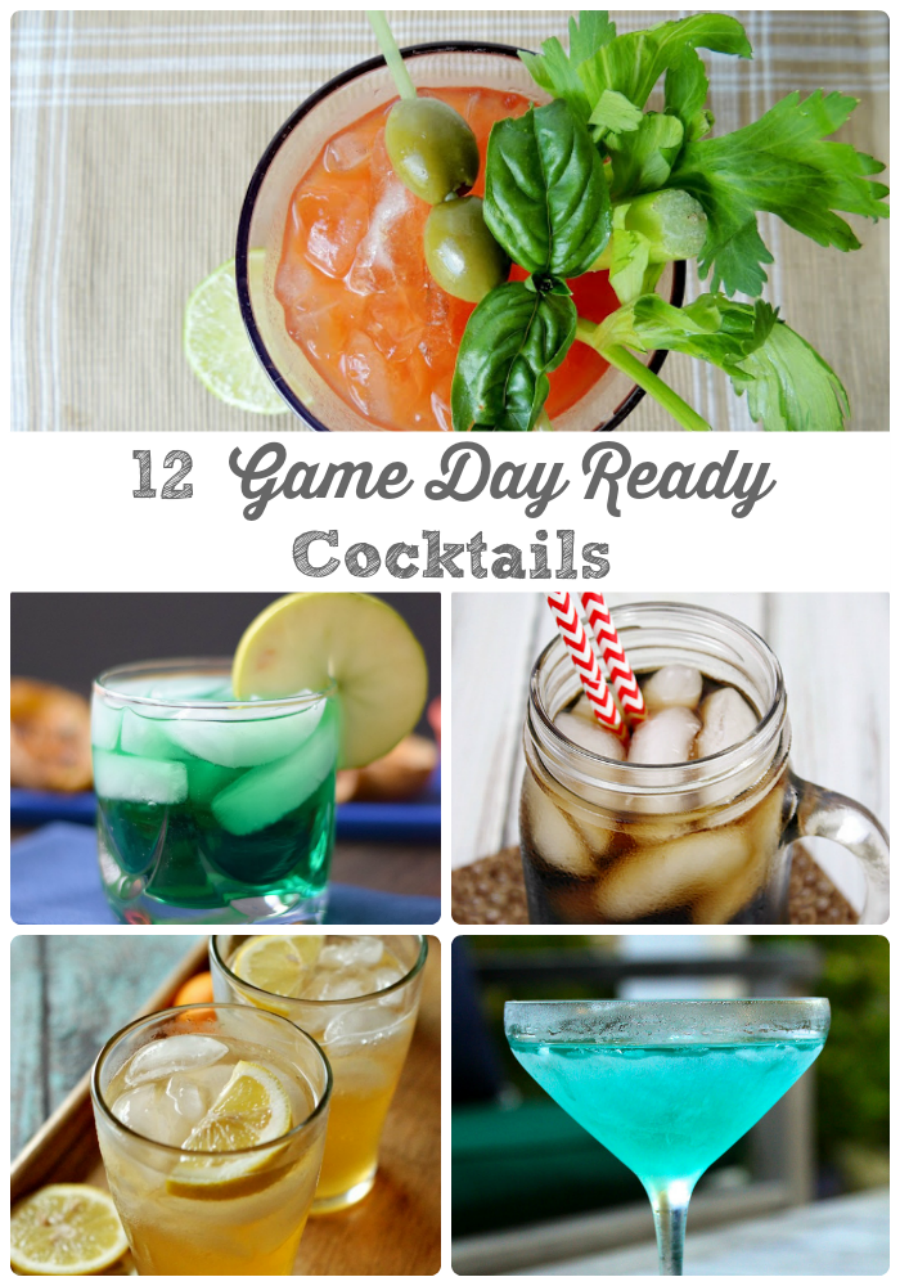 Forget the usual six packs! Quench your thirst while watching the big game with these 12 Game Day Ready Cocktails.