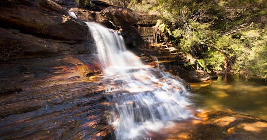 Time To Get Out Of The City.  My Blue Mountains Hike - Wentworth Falls
