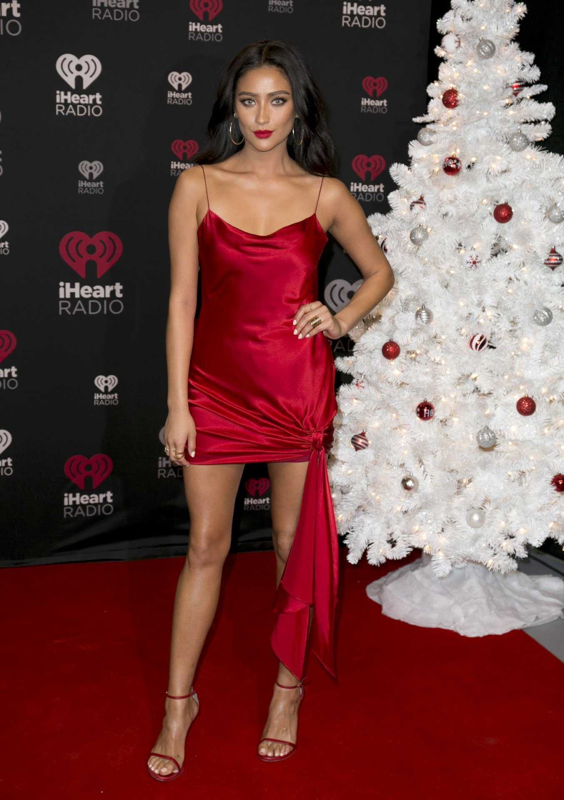 Shay Mitchell at iHeart Jingle Ball North in Toronto