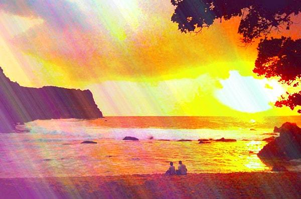 Sunset Pantai Ngetun