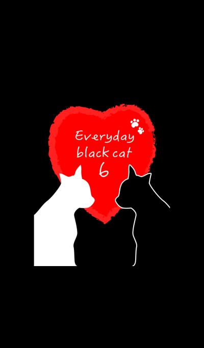 Everyday black cat6!