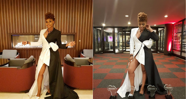 Checkout Yemi Alade's Stunning Outfit To An Event