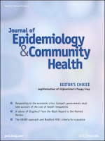 Image of Journal of Epidemiology and Community Health front cover