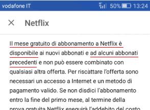 Descrizione app Netflix Android abbonati precedenti