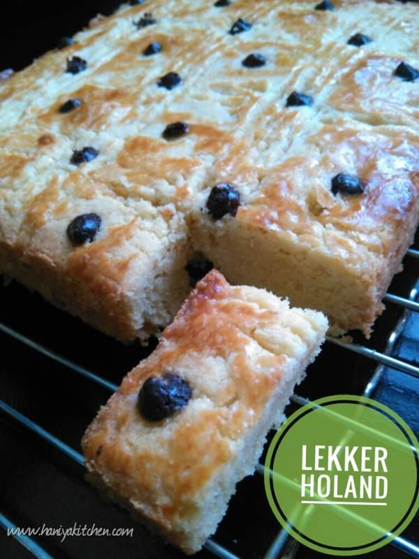 Resep Kue Lekker Holland (boterkoek)