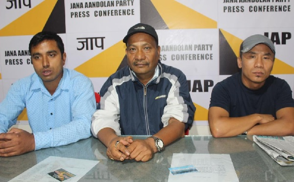 Jan Andolan Party thanks Mamata Banerjee Kalimpong District nod