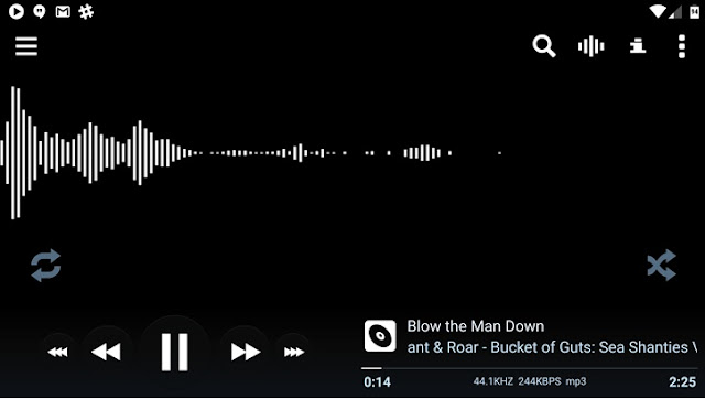 PowerAmp Got new Update with New Audio Engine and new User Interface : Download APK