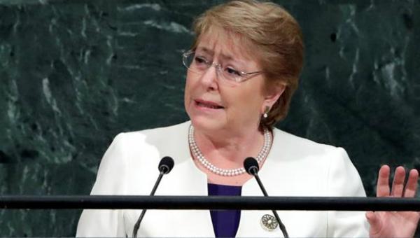 A seis días de entregar el poder, Bachelet anuncia nueva Constitución para Chile