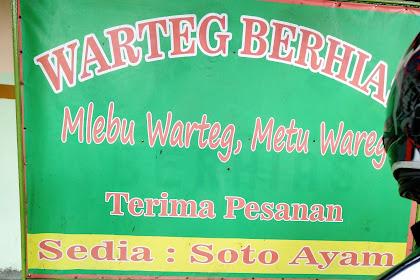 Warteg Berhias, Mlebu Warteg Metu Wareg di Beji Depok