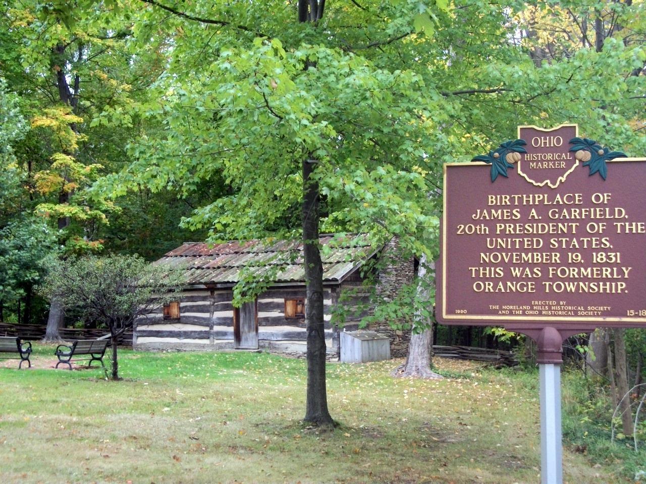 Potus Historical Sites James A Garfield