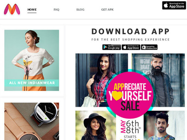 Fashion Takes A Huge Stride Forward With Myntra App