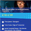 Vote Jamie Campbell Bower, Lily Collins, and the CITY OF BONES Movie on Teen Choice Awards   | TMICanada