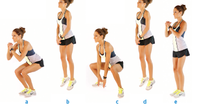 in and out squat jumps
